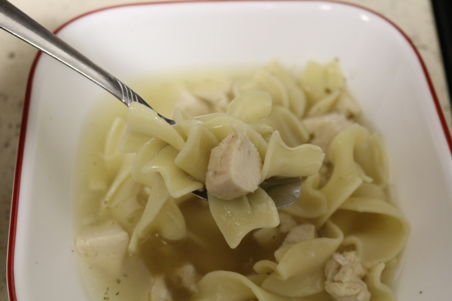 Simple Chicken Noodle Soup