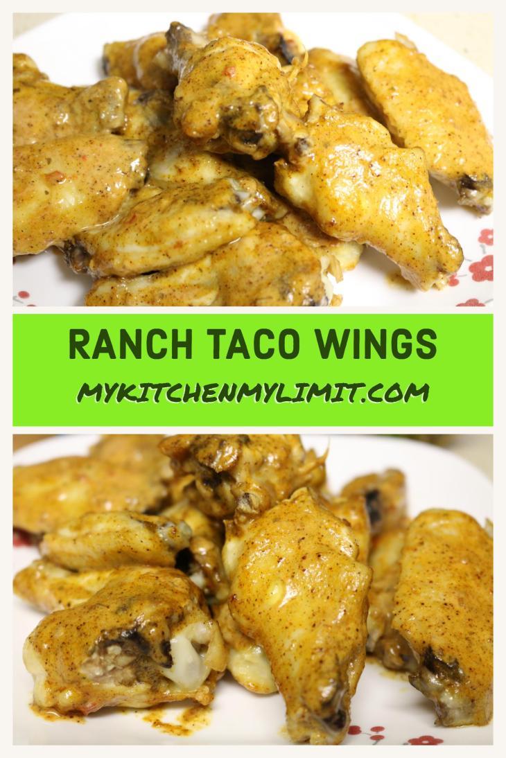 Ranch Taco Wings