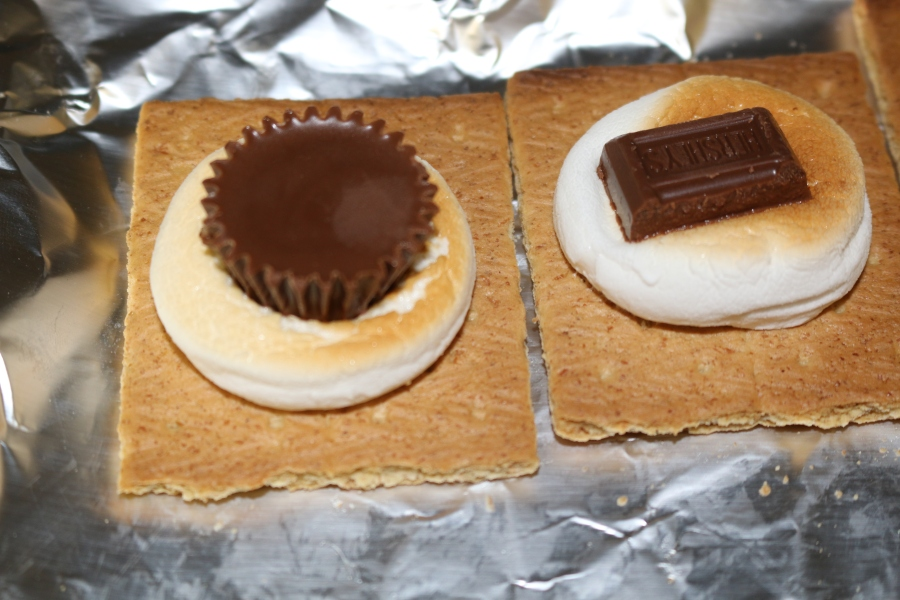 S'mores in the Oven